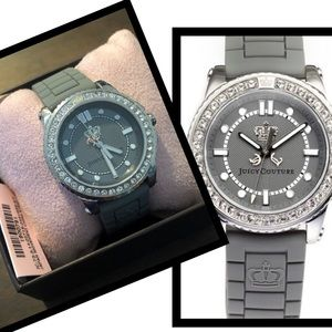 🎀NWT JUICY COUTURE TIME PIECE WITH RHINESTONES